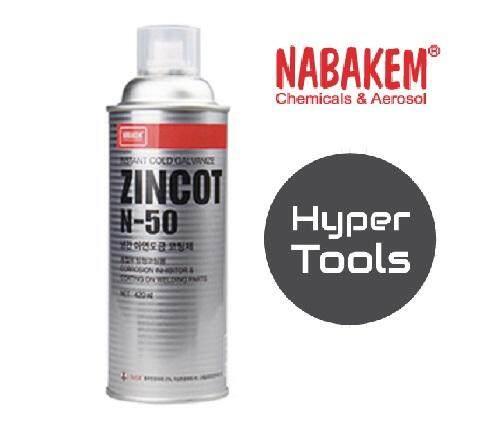 NABAKEM Zincot N50 Instant Cold Galvanise Spray 420ml