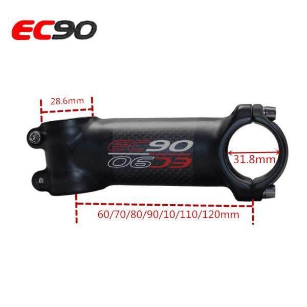 Mua EC90 Nhôm + Carbon Sợi Riser Rod Gốc Sợi Carbon Xe Đạp Thân Carbon 28.6-31.8MM 6 Độ 17 Độ