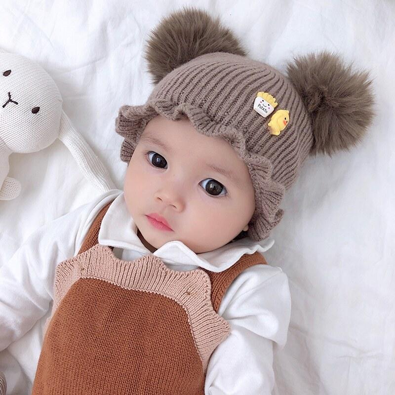 Giá bán Nón Cho Bé Gái Hoạt Hình In Hình Nón Nắp Ấm Bé Gái Cotton Mùa Đông Mũ Trẻ Em Trẻ Em Dễ Thương Nón
