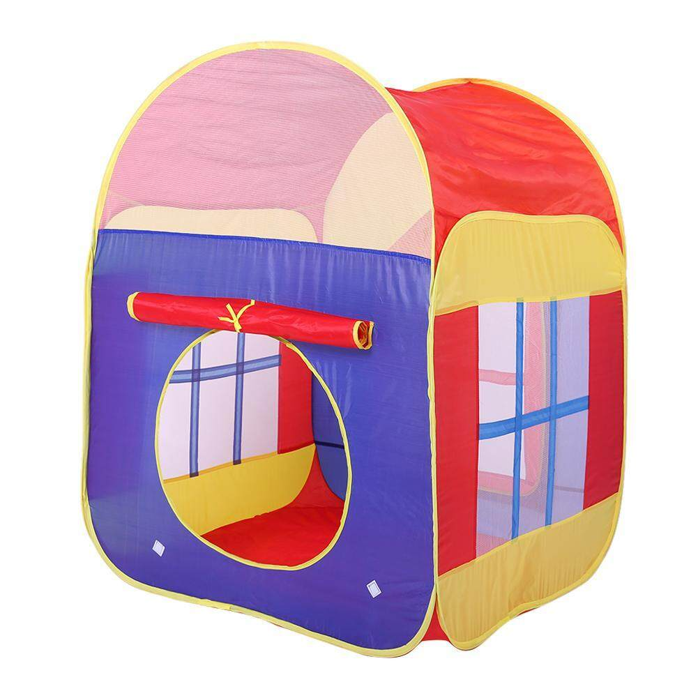 860359798 Baby Play Tent Toys Foldable Ocean Ball Pool Game House Inflatable Tent
