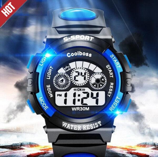 Nơi bán SWS♛Nóng ! Đồng hồ điện tử thể thao ngoài trời đa năng LED kỹ thuật số chống nước cho trẻ em