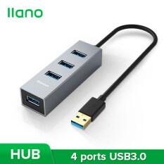 Llano USB3.0 Hub Tốc Độ Cao 4 Trong 1 Cho Máy Tính Xách Tay, Điện Thoại, Bàn Phím, Đĩa U Và Hơn Thế Nữa