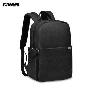 Ba lô máy ảnh SLR CADeN L4 túi đựng máy ảnh kỹ thuật số dung lượng lớn hai lớp chống nước cho Canon Sony Nikon SLR - INTL thumbnail
