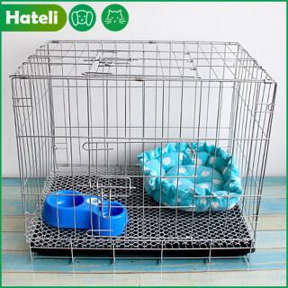 HATELI ( Tặng Lưới + Khay 35 28 32Cm) Lồng Chó & Lồng Mèo Lồng Thú Cưng Lồng Gấp Được Lồng Thú Cưng Nhỏ Lồng Dây Cho Thú Cưng Gia Dụng Phụ Kiện Cho Mèo Phụ Kiện Cho Chó thumbnail