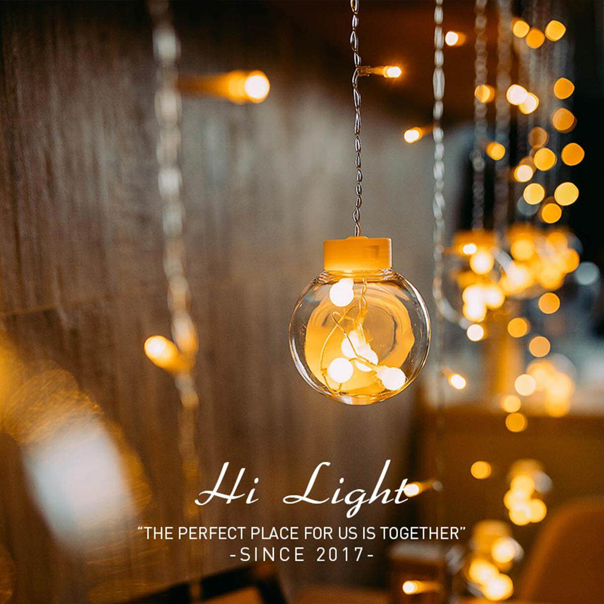 Lovely 3M Ball String Light LED Curtain Light Rope For Indoor Outdoor Decoration - EU Plug