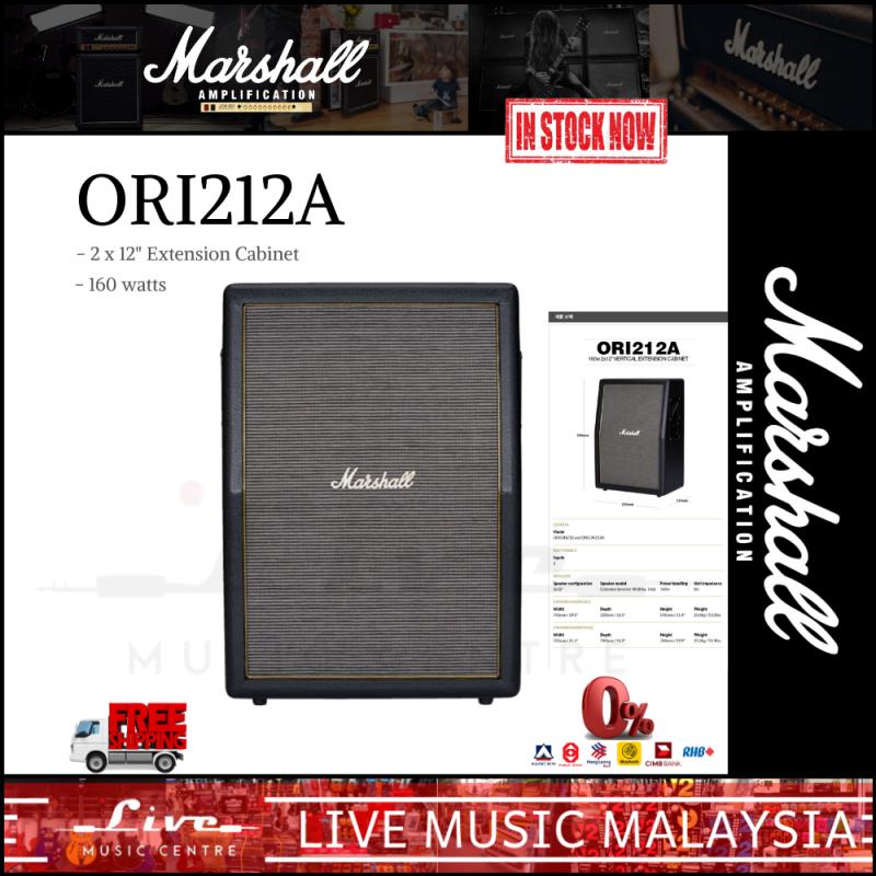 Marshall ORI212A - Origin 160 Watt, 2x12 Inch Vertical Extension Cabinet Malaysia