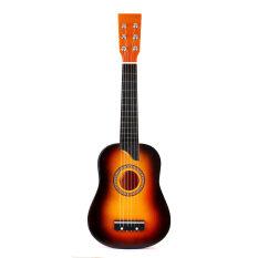 25 Inch 6 Đàn Ghi-ta Acoustic Dây Bộ Thực Hành Cho Người Mới Bắt Đầu Nhạc Cụ Guitar Có Dây Cho Người Mới Bắt Đầu Học Sinh
