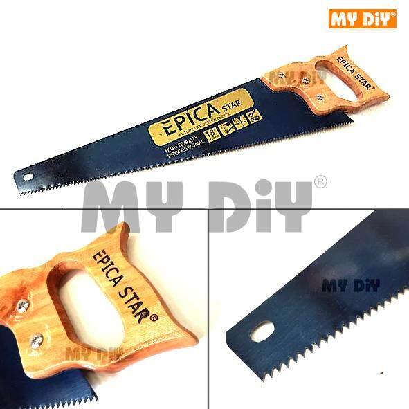 """MY DIY - Epica Hand Saw With Wood Handle Available Saw 18"""" or 20"""""""