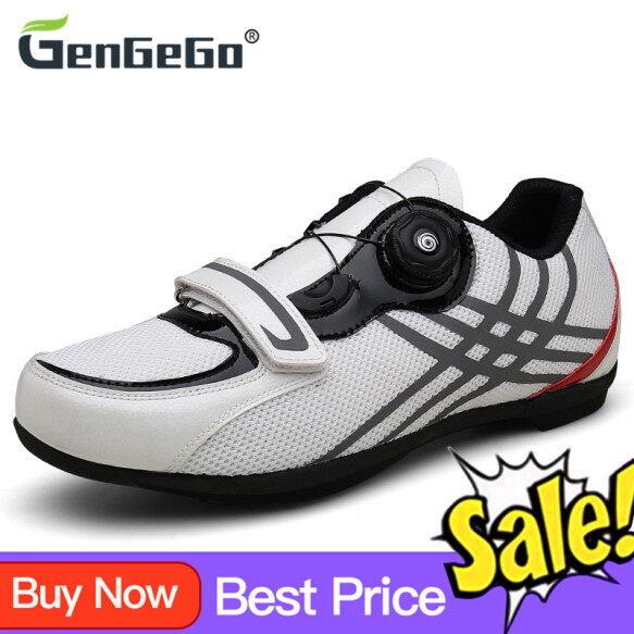Giày đạp xe đường trường gengego cho Nam Nữ, Giày thể thao tự khóa, chuyên nghiệp, dùng ngoài trời giá rẻ