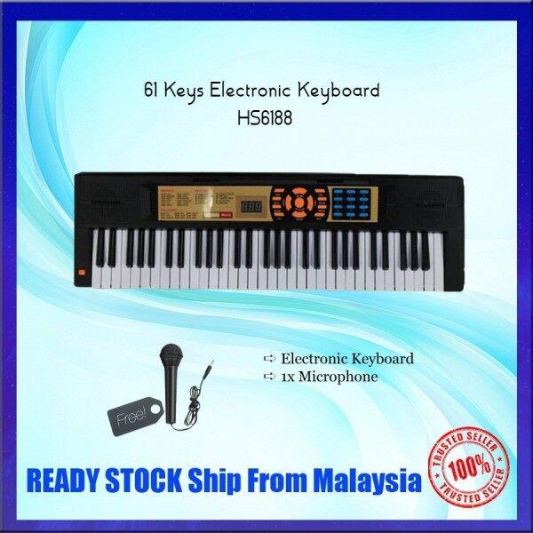 61 Keys Children Electronic Keyboard HS6188 Malaysia