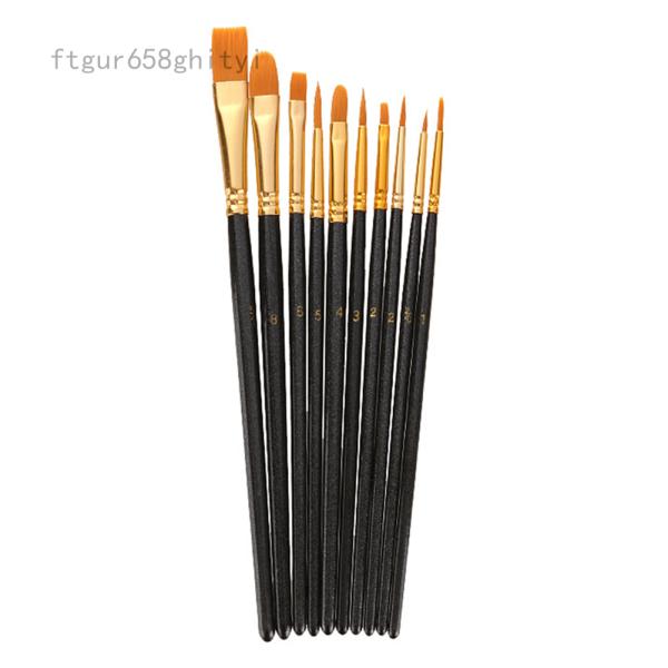 Mua Metagio 110 Cái/bộ Nylon Tóc Sơn Dầu Brush Set Liner Vòng Filbert Tự Làm Bút Màu Nước Cho Bức Tranh Nghệ Thuật