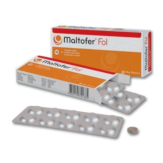 Maltofer Fol Chewable Tablet 100mg 30s By Zen Pharmacy.