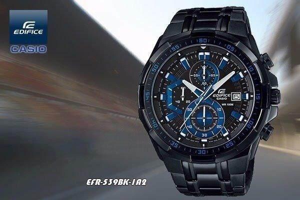 NEW SPECIAL PROMO C ASIO E DIFICE EFR-539BK-1A2V black Malaysia