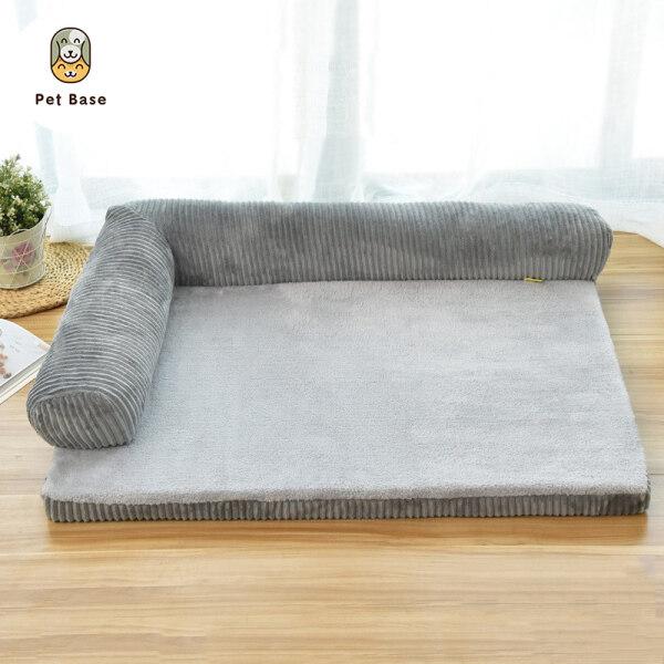 Giường Con Chó Lớn Sofa Vật Nuôi Đệm, Thảm Ổ Có Thể Giặt Được Cho Chó Con Mèo, Kennel Nhà Ở Vật Nuôi