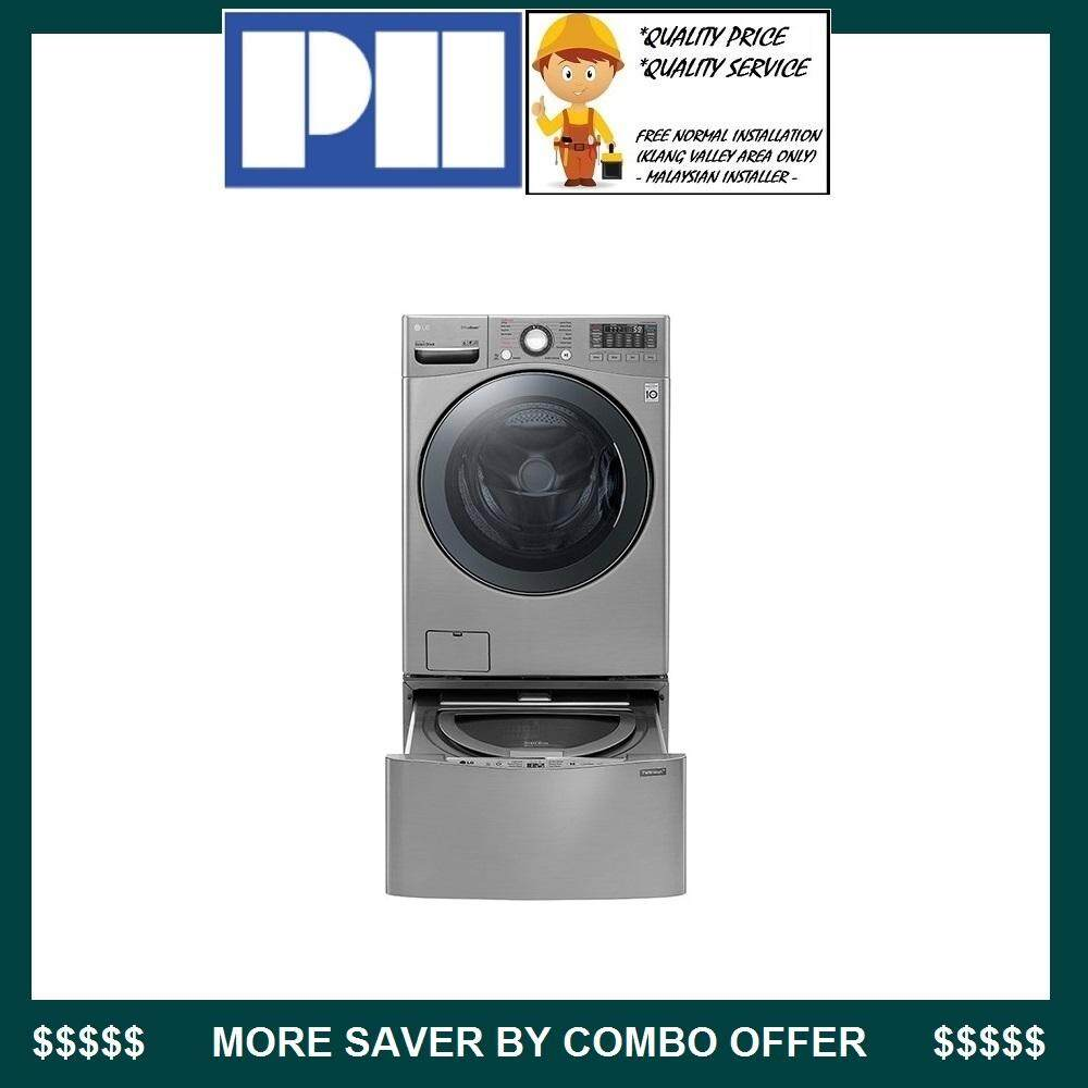 Lg Twin Wash F2718rvtv + T2735ntwv 18kg Washer 10kg Dryer Combo By Ph Chain Store.