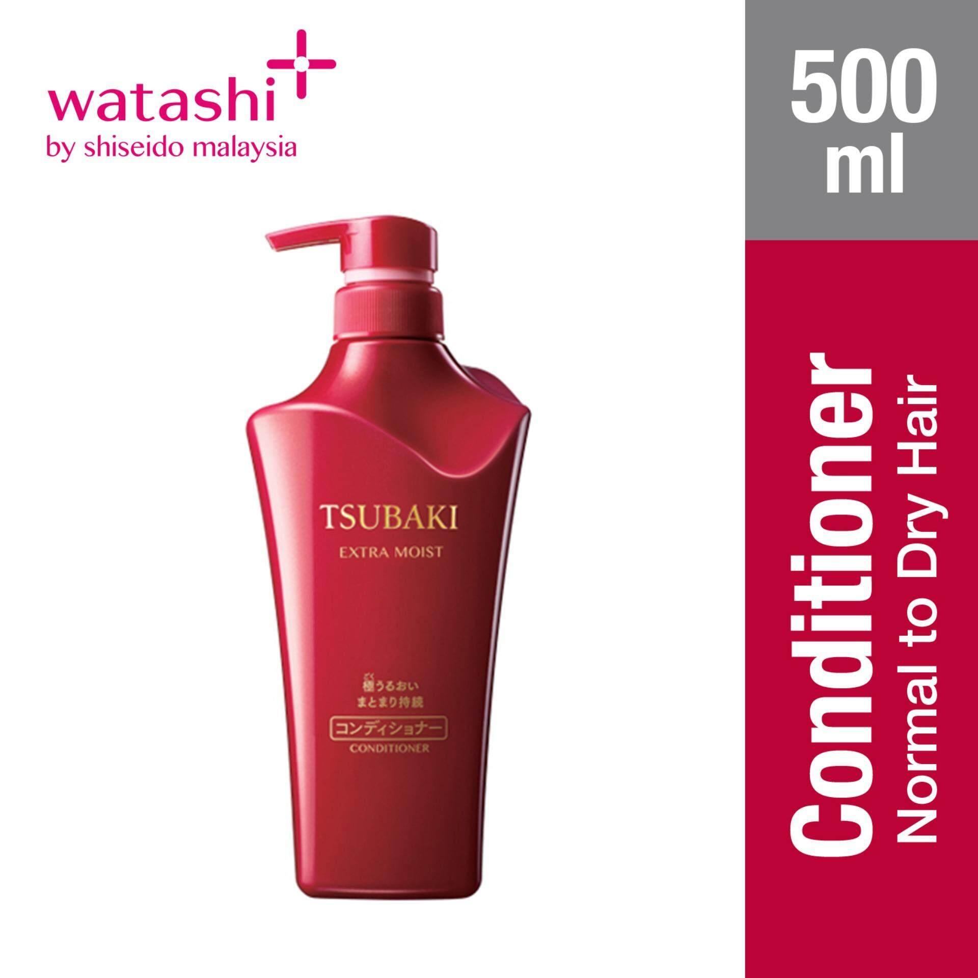 Tsubaki Extra Moist Conditioner 500ml By Jbeauty By Shiseido.