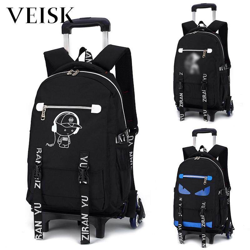 Veisk New Style Rod Bag Removable Rod Shuang Bei Bao Hand Rod Students Bag