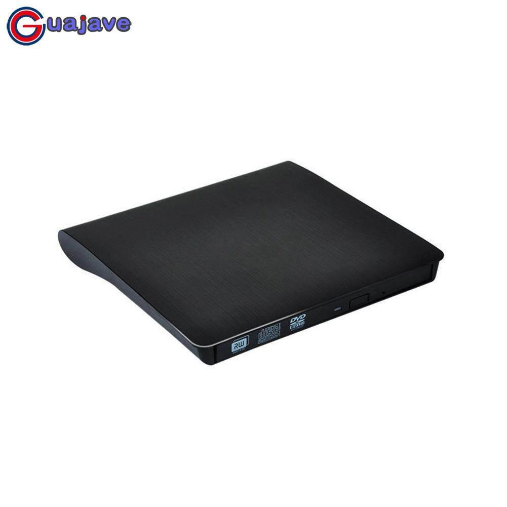 Guajave Slim USB 3.0 Bên Ngoài DVD RW CD Nhà Văn Đầu đọc Ổ Người Chơi Cho Laptop