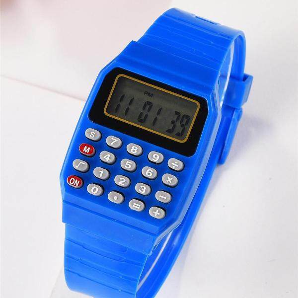 waterproof 2021NEW New Multi-Function Calculator Watch Childrens Electronic Test Calculator Table Malaysia