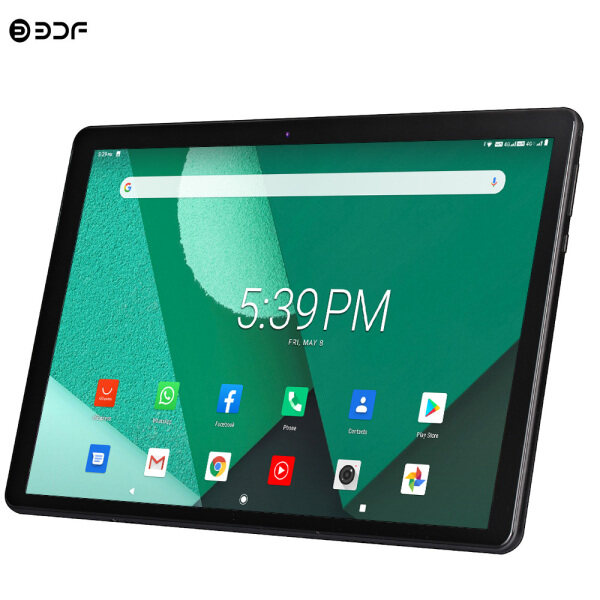 Ten Core  10.1 inch Android 9.0 Tablets  2021 New Tablet Pc 10.1 inch Android 9.0 Tablets Octa Core Google Play 2GB ram+32 rom  3g 4g LTE Phone Call GPS WiFi Bluetooth Tempered Glass