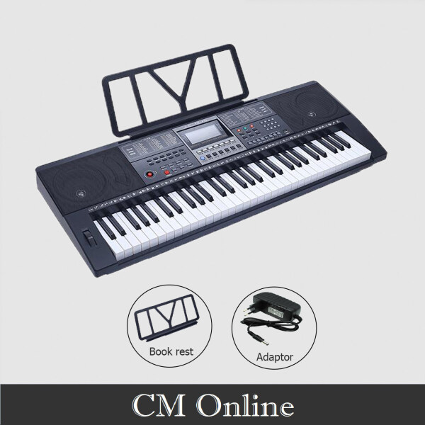 YM-928 Portable Keyboard 61 keys With Touch Response Malaysia