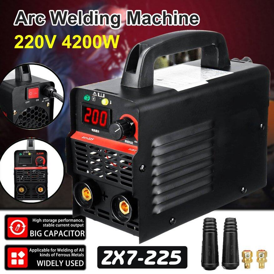 OSMAN 220V Adjustable Handheld IGBT Inverter Electric Arc Welder Welding Machine