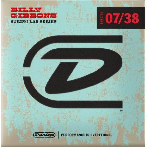 Jim Dunlop Rev. Willys Guitar Strings Super Fine 07-38 Billy Gibbons Billy Gibbons Guitar Strings Malaysia