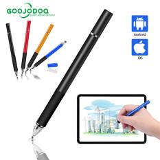 GOOJODOQ Phổ Stylus Pen 2 Trong 1 Màn Hình Cảm Ứng Pen Cho Tất Cả iPad Bút Stylus iPhone Huawei Android Cho Apple Bút Chì