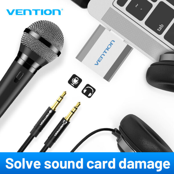 Giá Vention External Sound Card USB To 3.5mm Jack Aux headset Adapter Stereo Audio sound card For Speaker PC Mic Laptop Computer PS4