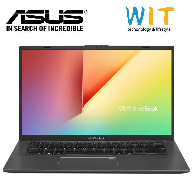 Asus Vivobook A412F-LEB093T/LEB094T/LEB095T 14 FHD Laptop ( I5-8265U, 4GB, 512GB, MX250 2GB, W10 ) Grey/Blue/Silver Malaysia