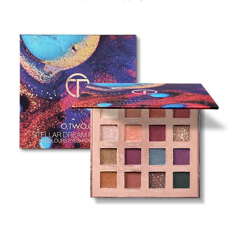 LISSNG Starry Dreams 16 Colors Eye Shadow Palette Shimmer Beauty High Quality Powder Cosmetic Eye Shadow