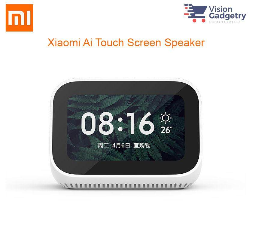 Xiaomi Mi Ai Touch Screen Speaker Alarm Clock LX04 Malaysia