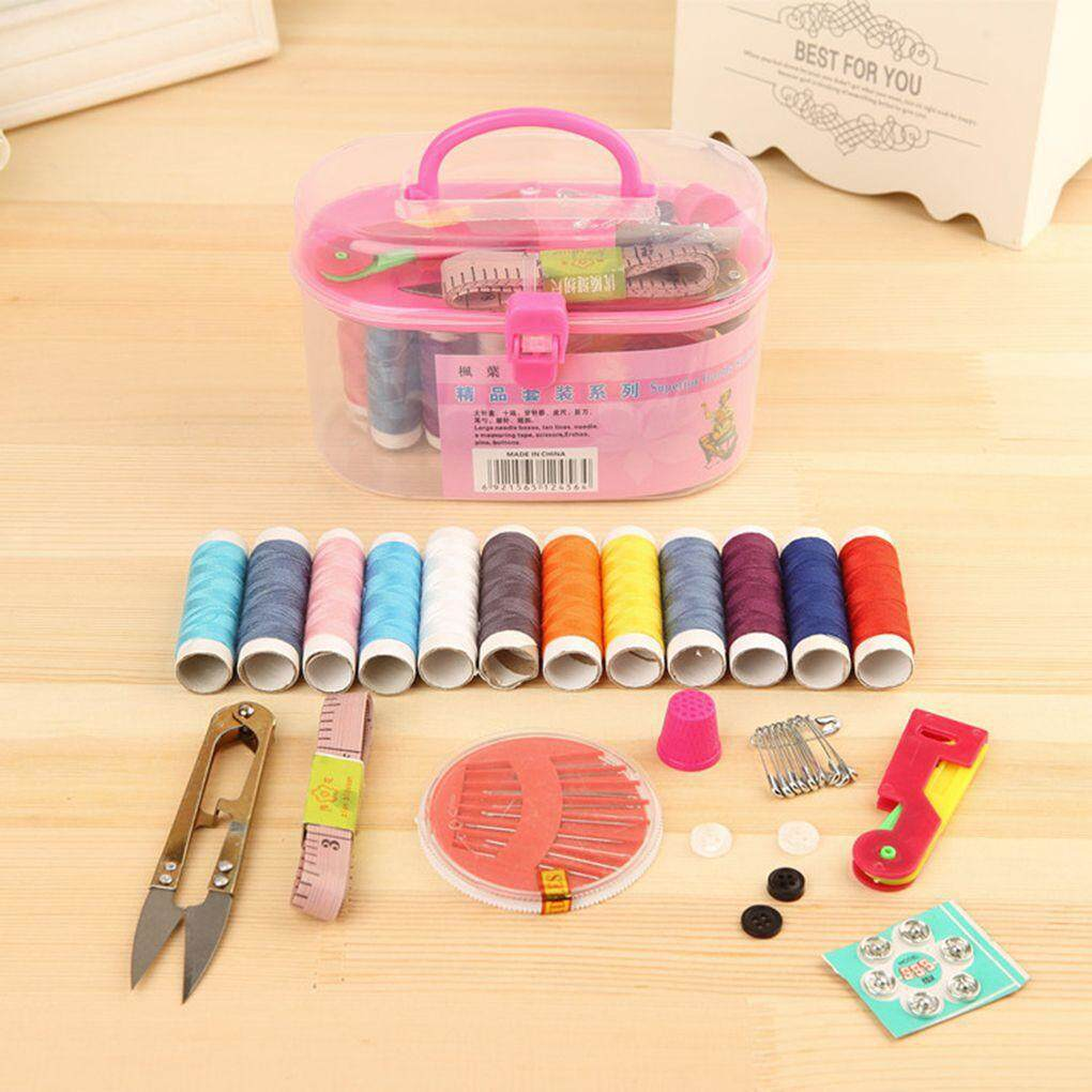 1 Set Multi Function Sewing Box Sewing Necessary Tools Sewing Kit For Household Sewing