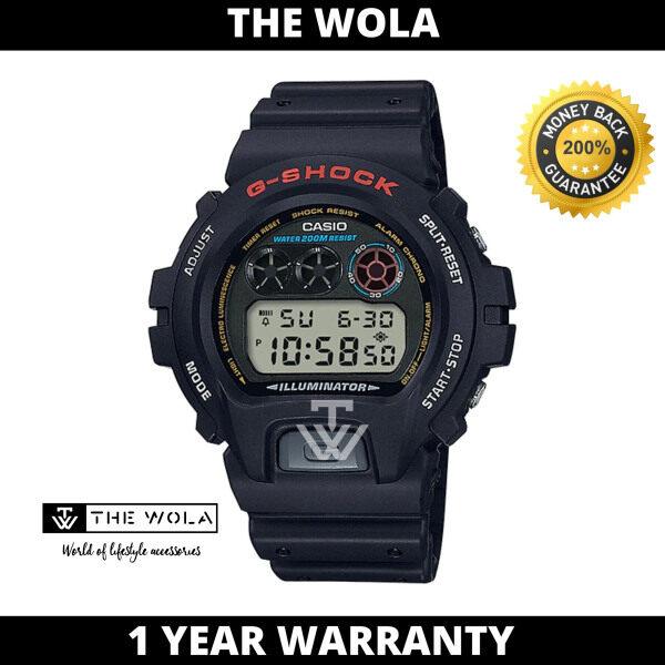 Casio G-Shock Mens Digital Watch DW-6900-1VDR Black Resin Band Sport Watch Malaysia