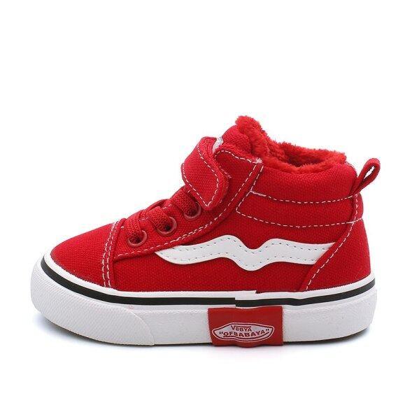 Giày Em Bé Bé Gái Giày Trẻ Em 1-3 Tuổi 2019 Mới Cộng Với Giày Vải Nhung Dày Giày Cho Trẻ Mới Biết Đi Bé Trai Bốt Đi Tuyết giá rẻ