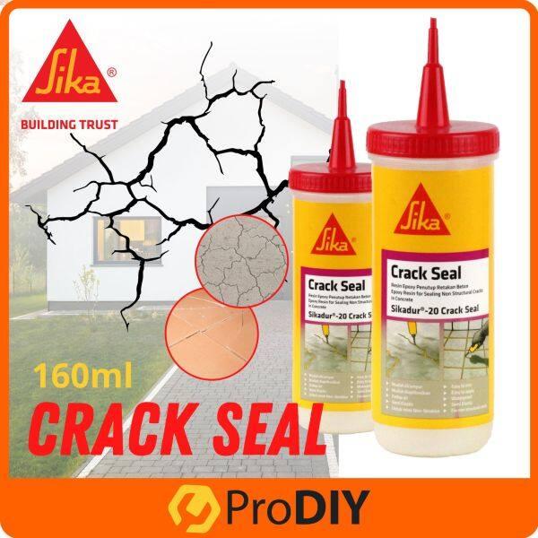 Sikadur 20 Crack seal 160ml (A+B) Epoxy Resin for Sealing Non Structural Cracks Concrete Penutup Retakan