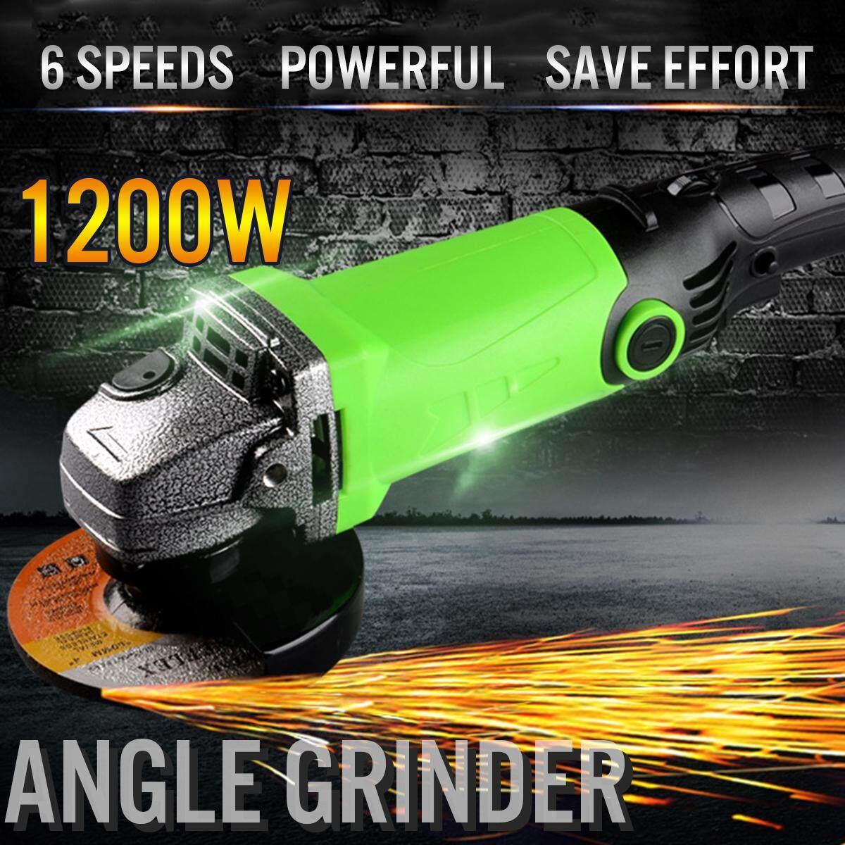 MOD.5107 1200W Multi-function Speed Adjustment Angle Grinder Cutting Polishing