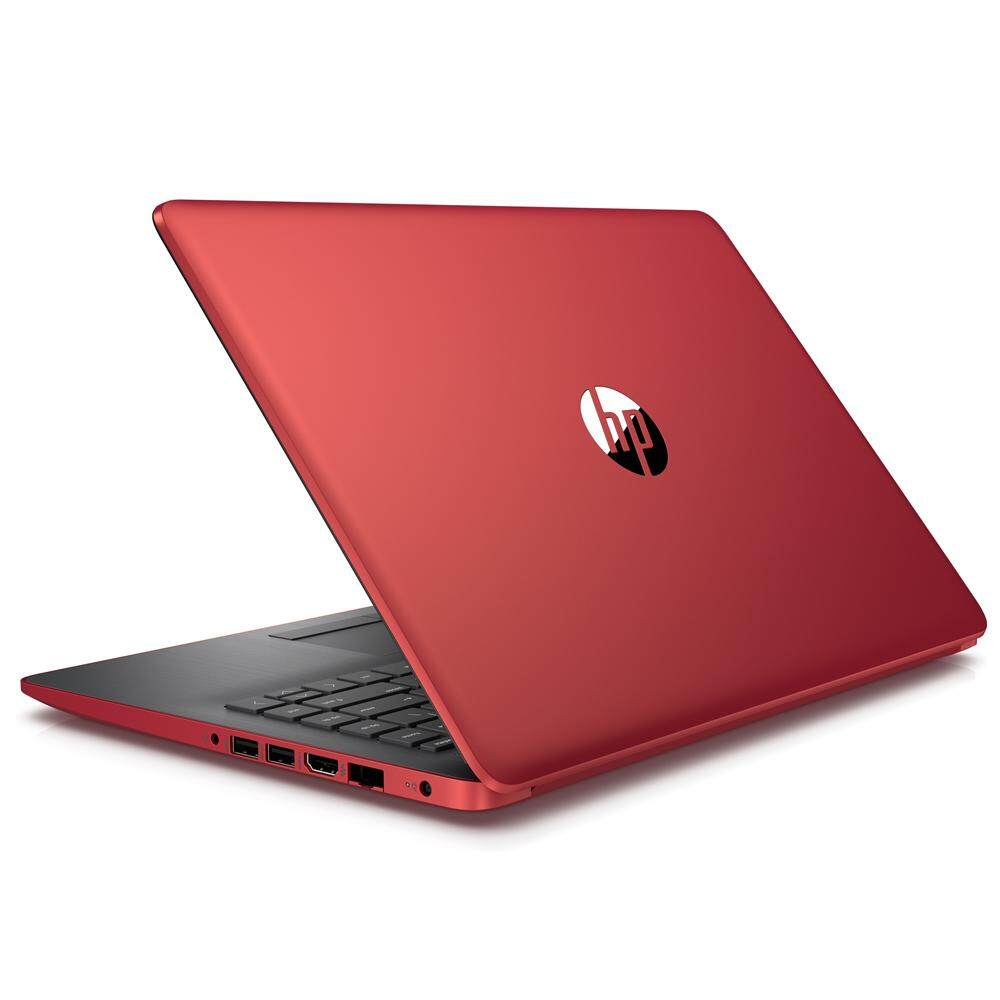 HP 14-cm0108AU (Ryzen 5-2500U (2GHz), 4GB DDR4, 1TB 5400rpm, Integrated Graphics, 14 FHD IPS, No ODD, Win 10, Scarlet Red, 1.6kg, 2 Years Local Warranty by HP) Malaysia