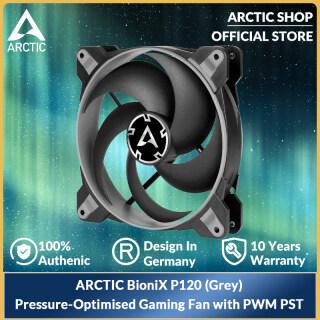 ARCTIC BioniX P120 (Xám) Pressure Pressure- Quạt Chơi Game Tối Ưu Hóa 120 Mm Với, PWM PST ACFAN00168A thumbnail