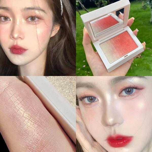 【HY Makeup Store】Sản phẩm mới bán nóng má hồng, nổi bật, tích hợp, dần dần, làm sáng, trắng, bột, má hồng, ba chiều, sửa chữa, bột cao cấp