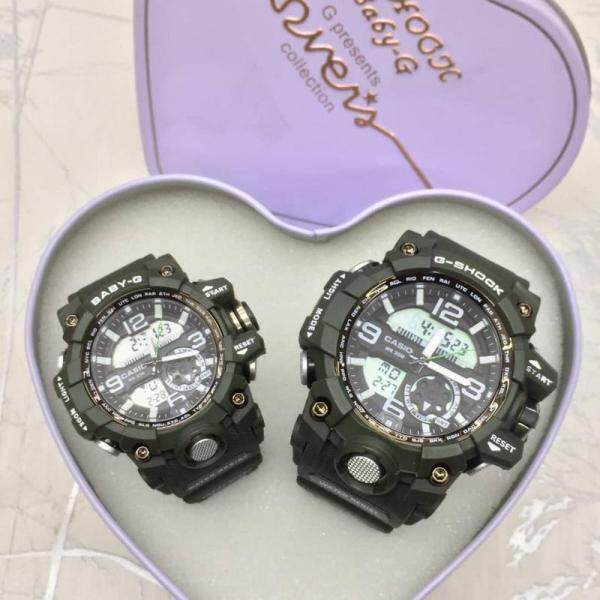 SPECIAL PROMOTION CASI0 G SHOCK_FLORA DIGITAL WATCH SET FOR COUPLES Malaysia