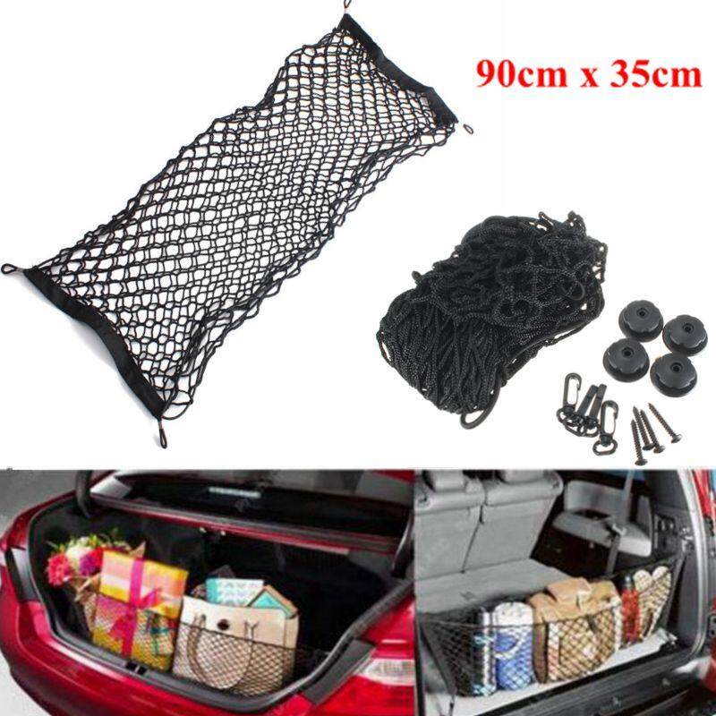 【free Shipping + Flash Deal】new Fastness Car Cargo Rear Truk Storage Luggage Swing Elastic Mesh Net Holder By Audew.