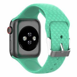 Dây Đeo Họa Tiết 3D Cho Apple Watch Band Apple Watch, Dây Đeo Iwatch 5 4 3 Dây 44Mm 40Mm Vòng Đeo Tay Dây Đồng Hồ Silicon 38Mm 42Mm thumbnail