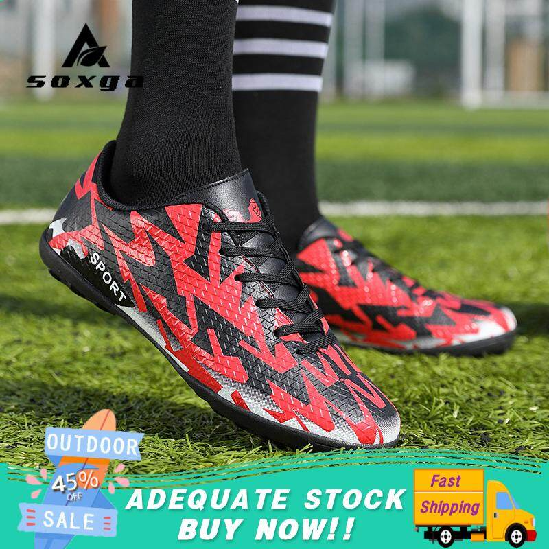 d90ca4199 Mens Low Top Training Fg Sole Outdoor Football Shoes Soccer Shoes Men  Football Boots Sneakers Shoes  free Shipping  By Soxga.