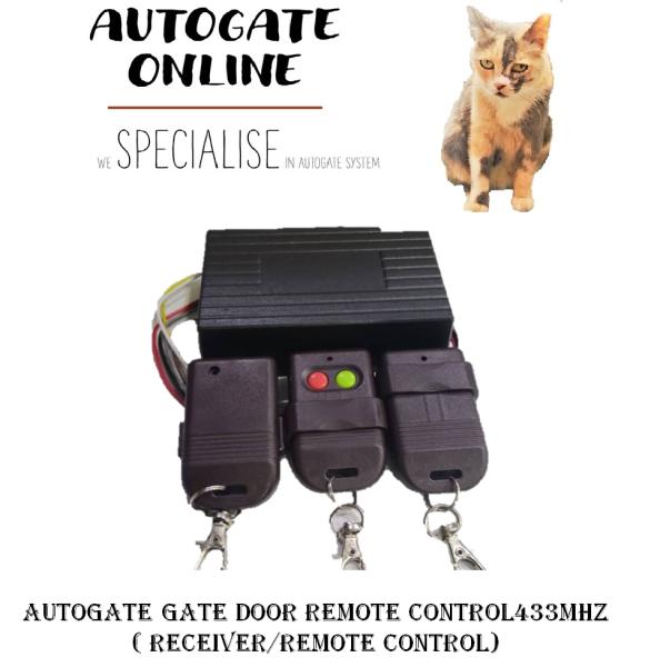 AUTOGATE GATE DOOR REMOTE CONTROL433MHz ( RECEIVER/REMOTE CONTROL)-AUTOGATE ONLINE