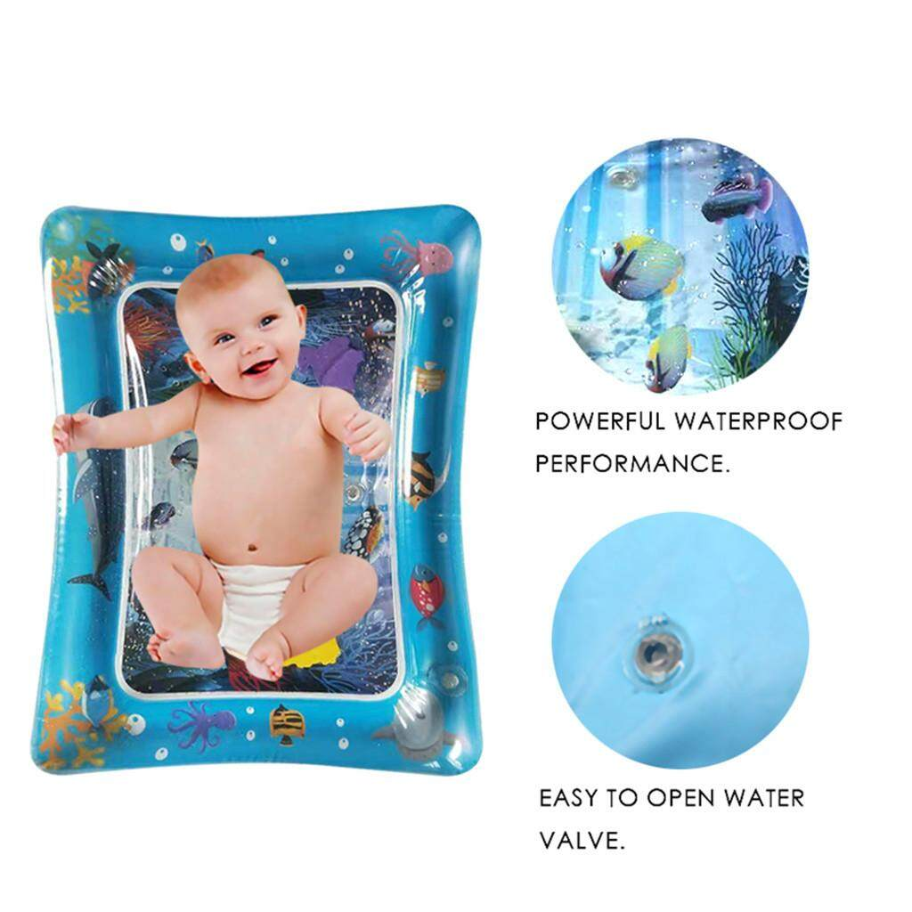Safe Inflatable Baby Water Mat Fun Activity Play Center for Children & Infants