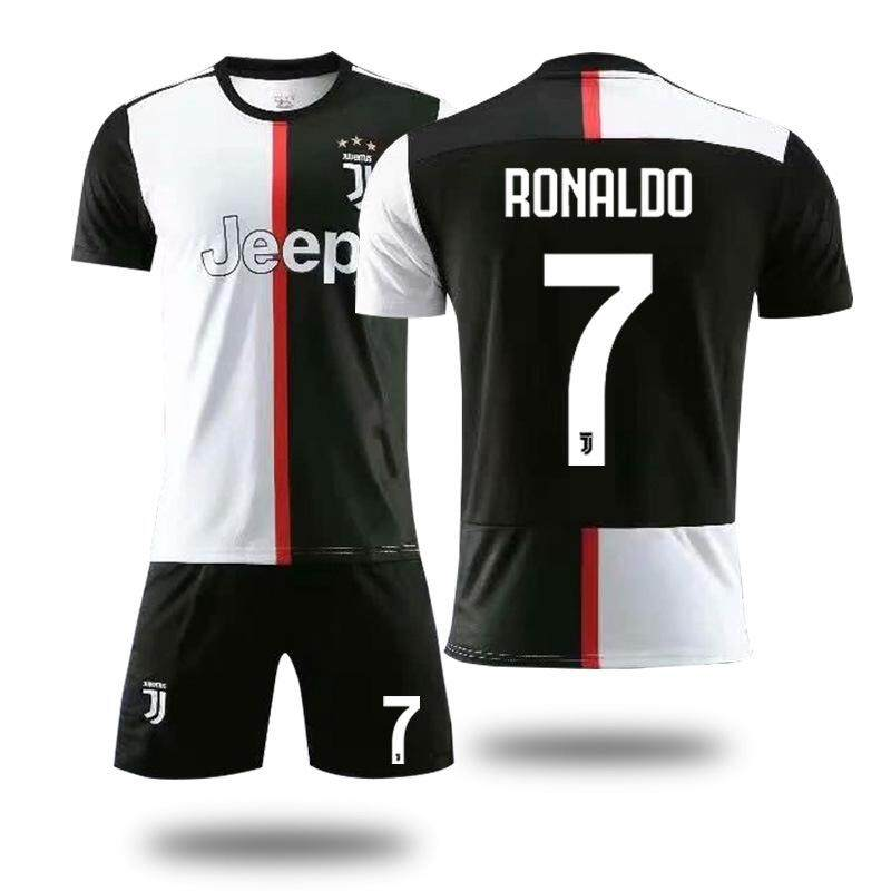pretty nice 586bd 33079 19/20 football jerseys Juventus home commemorative adult suit ronaldo
