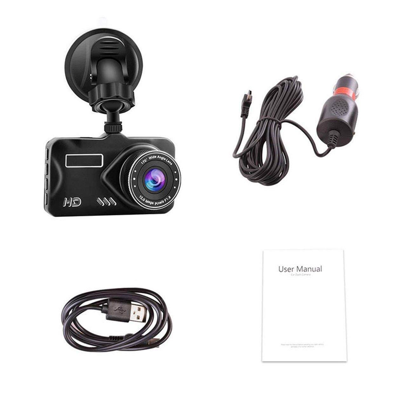 CELE Car Camera 1080P Traffic Recorder Recorder Beautiful Wide Angle Single Lens