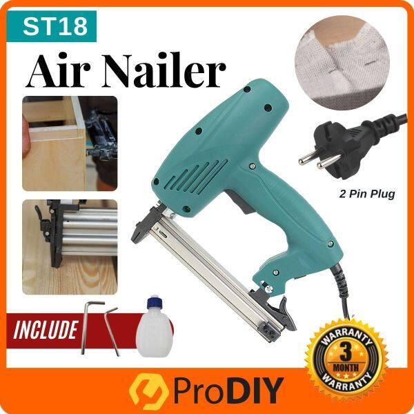 ST18 Electric Nailer Wainscoting Concrete Manual casing Nailer Stapler Metal Cement Pallet Construction