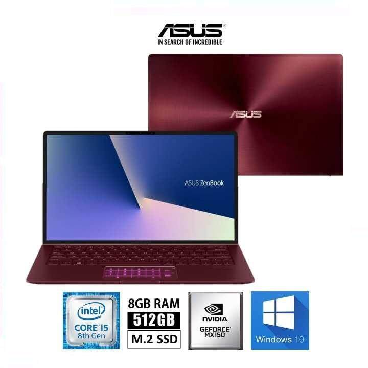 Asus Zenbook UX333F-NA4162T 13.3 FHD Laptop Burgundy Red (i5-8265U, 8GB, 512GB, MX150 2GB, W10) Malaysia